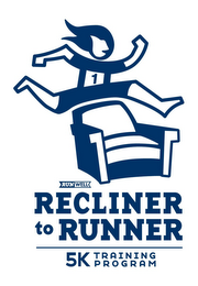 mark for 1 RUNWELL RECLINER TO RUNNER 5K TRAINING P R O G R A M, trademark #85655388