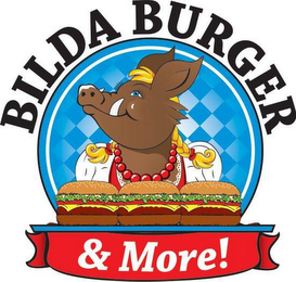 mark for BILDA BURGER & MORE!, trademark #85655397