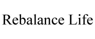 mark for REBALANCE LIFE, trademark #85655793