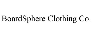 mark for BOARDSPHERE CLOTHING CO., trademark #85655798