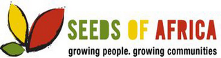 mark for SEEDS OF AFRICA GROWING PEOPLE. GROWING COMMUNITIES, trademark #85655989