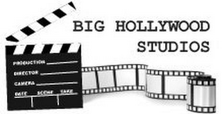 mark for BIG HOLLYWOOD STUDIO PRODUCTION DIRECTORCAMERA DATE SCENE TAKE, trademark #85656023