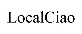 mark for LOCALCIAO, trademark #85656042