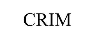 mark for CRIM, trademark #85656067
