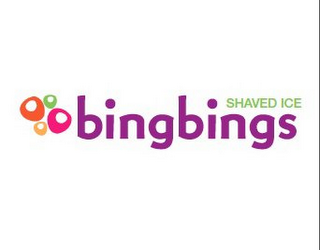 mark for BINGBINGS SHAVED ICE, trademark #85656177