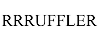 mark for RRRUFFLER, trademark #85656220