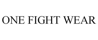 mark for ONE FIGHT WEAR, trademark #85656245