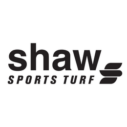 mark for SHAW SPORTS TURF S, trademark #85656274