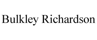mark for BULKLEY RICHARDSON, trademark #85656585