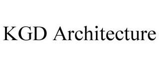 mark for KGD ARCHITECTURE, trademark #85656590