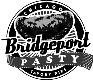 mark for CHICAGO BRIDGEPORT P A S T Y SAVORY PIES, trademark #85656752