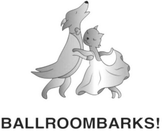 mark for BALLROOM BARKS!, trademark #85656851