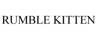 mark for RUMBLE KITTEN, trademark #85656928