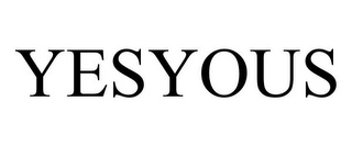 mark for YESYOUS, trademark #85657010