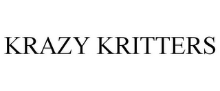 mark for KRAZY KRITTERS, trademark #85657012