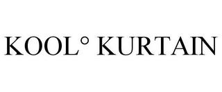 mark for KOOL° KURTAIN, trademark #85657123