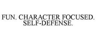 mark for FUN. CHARACTER FOCUSED. SELF-DEFENSE., trademark #85657230
