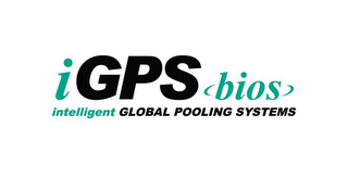 mark for IGPS BIOS INTELLIGENT GLOBAL POOLING SYSTEMS, trademark #85657324