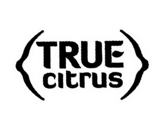 mark for TRUE CITRUS, trademark #85657325