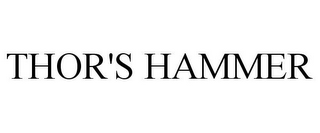 mark for THOR'S HAMMER, trademark #85657357