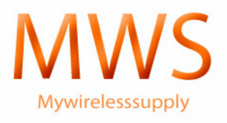 mark for MWS MYWIRELESSSUPPLY, trademark #85657427