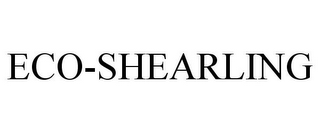 mark for ECO-SHEARLING, trademark #85657472