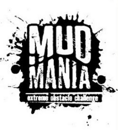 mark for MUD MANIA EXTREME OBSTACLE CHALLENGE, trademark #85657503