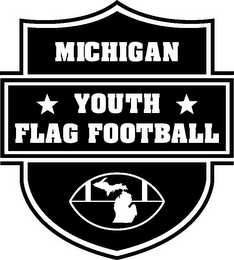 mark for MICHIGAN YOUTH FLAG FOOTBALL, trademark #85657768