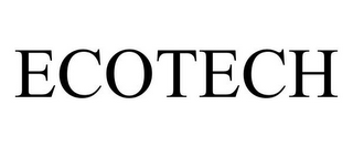 mark for ECOTECH, trademark #85657921