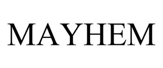 mark for MAYHEM, trademark #85658224