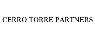 mark for CERRO TORRE PARTNERS, trademark #85658679