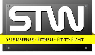 mark for STW SELF DEFENSE - FITNESS - FIT TO FIGHT, trademark #85658687