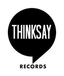 mark for THINKSAY RECORDS, trademark #85658923