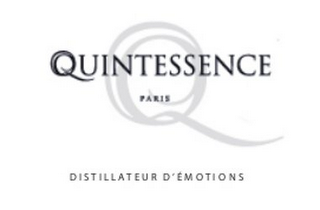 mark for Q QUINTESSENCE PARIS DISTILLATEUR D'ÉMOTIONS, trademark #85659355