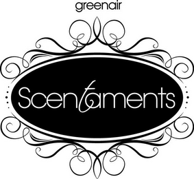 mark for SCENTAMENTS GREENAIR, trademark #85659739