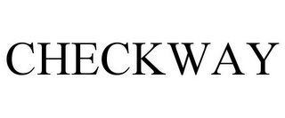 mark for CHECKWAY, trademark #85660077