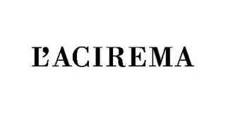 mark for L'ACIREMA, trademark #85660145