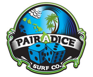 mark for PAIRADICE SURF CO., trademark #85660150