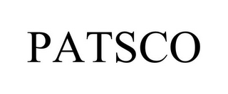 mark for PATSCO, trademark #85660155