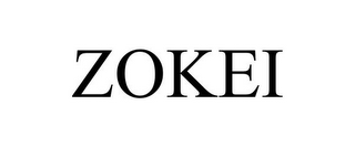 mark for ZOKEI, trademark #85660169