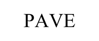 mark for PAVE, trademark #85660272