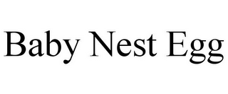 mark for BABY NEST EGG, trademark #85660414