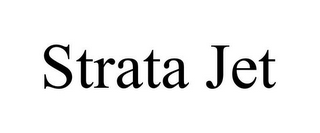 mark for STRATA JET, trademark #85660520