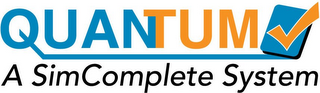 mark for QUANTUM A SIMCOMPLETE SYSTEM, trademark #85660584