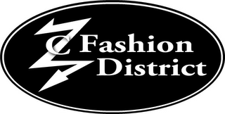 mark for ZC FASHION DISTRICT, trademark #85661264