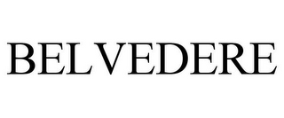mark for BELVEDERE, trademark #85661305