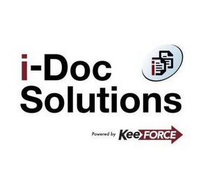 mark for I-DOC SOLUTIONS DS POWERED BY KEE FORCE, trademark #85661414