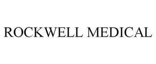 mark for ROCKWELL MEDICAL, trademark #85661495