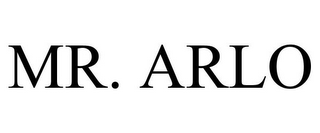 mark for MR. ARLO, trademark #85661502