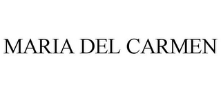 mark for MARIA DEL CARMEN, trademark #85661611